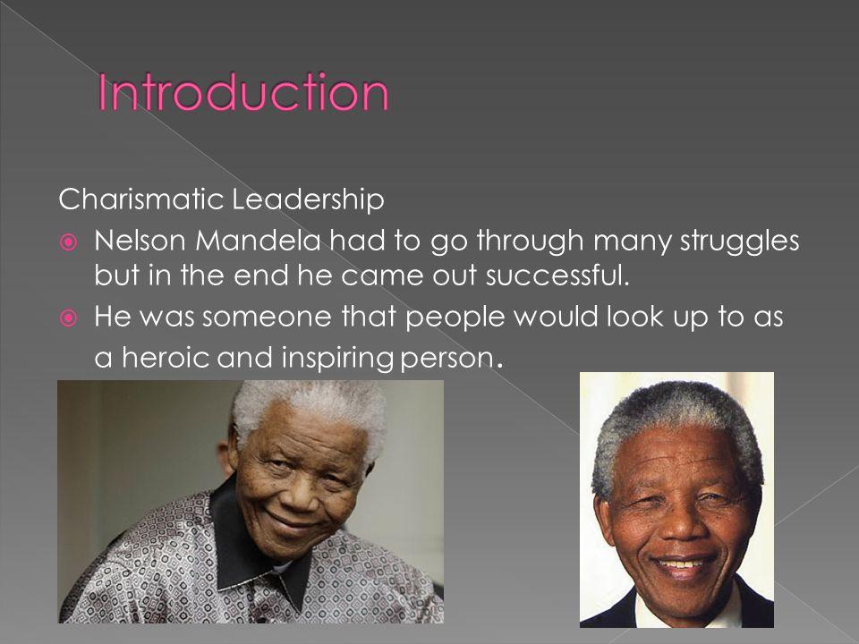 nelson mandelas leadership