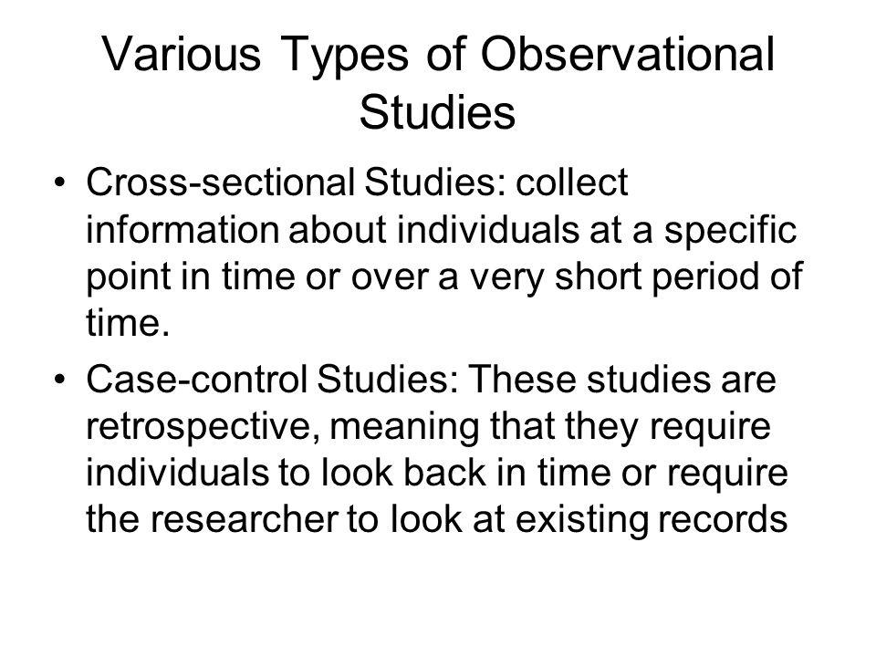 observational study essay