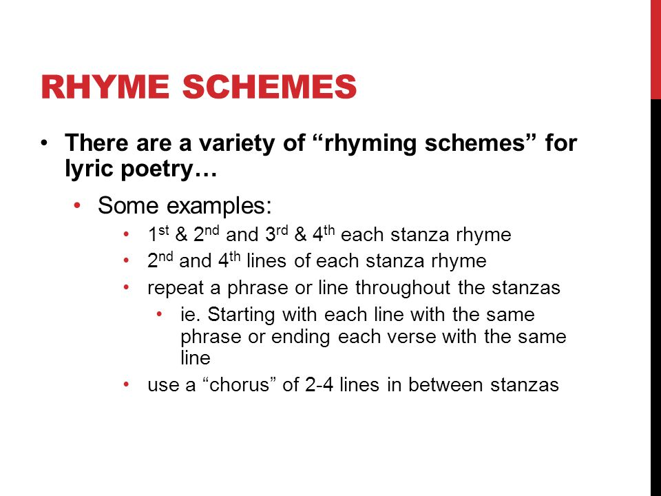 LYRIC POETRY 12 CP ENGLISH HACK. GET OUT YOUR LYRIC POEM EXAMPLE ...
