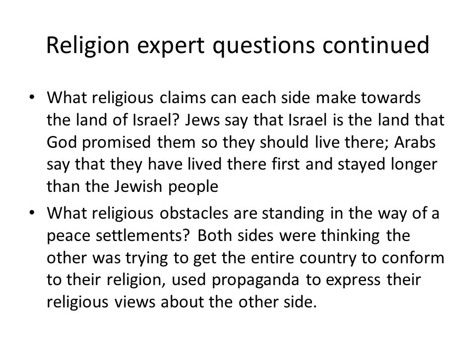Israelpalestine conflict by siri claire natalie and brandon 6 religion sciox Image collections