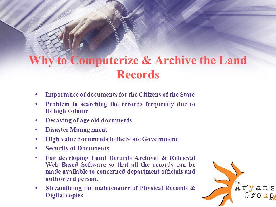 land records on web