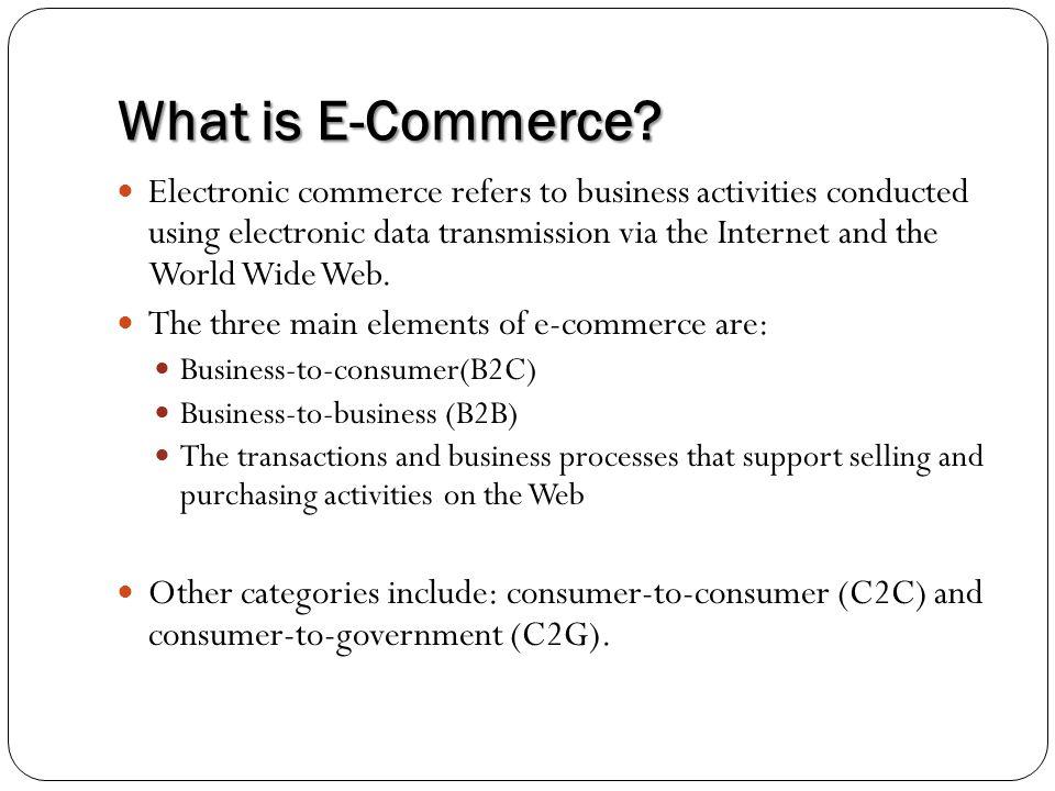 E Commerce Essay