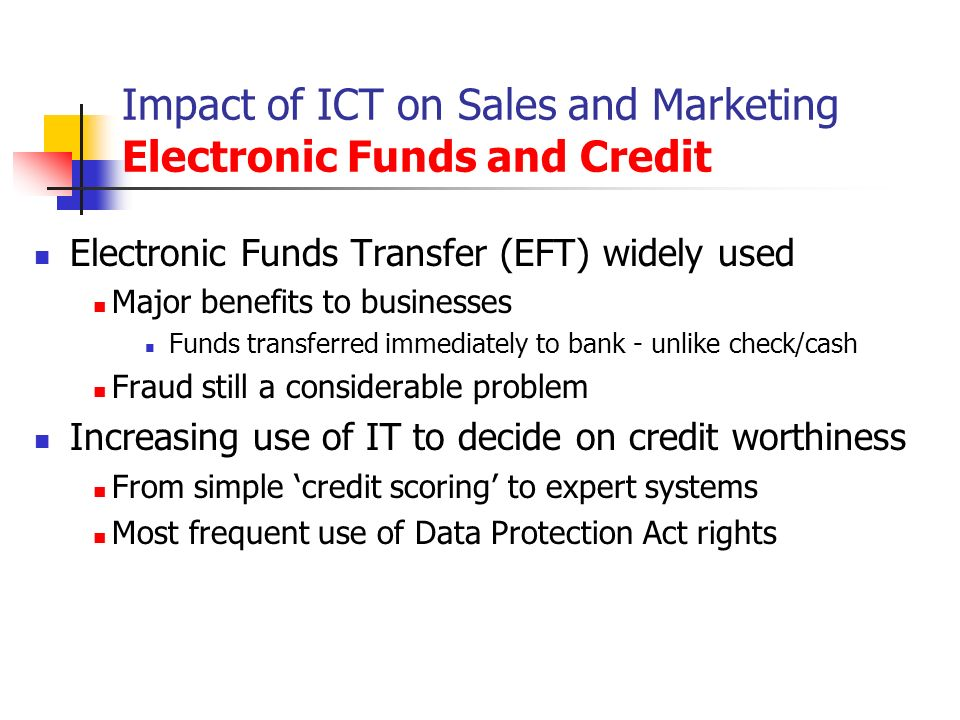 impact of ict on the banking