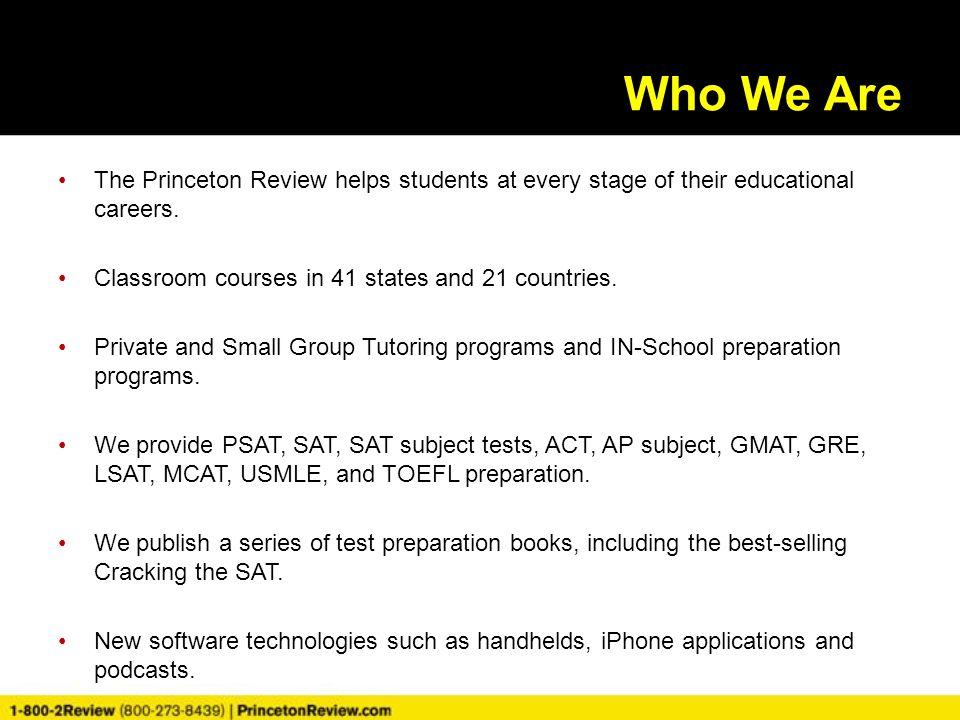 princeton review essay grading