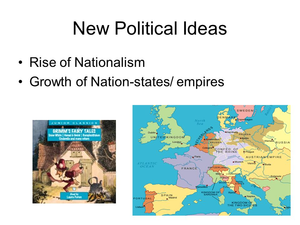 New Political Ideas Rise of Nationalism Growth of Nation-states/ empires