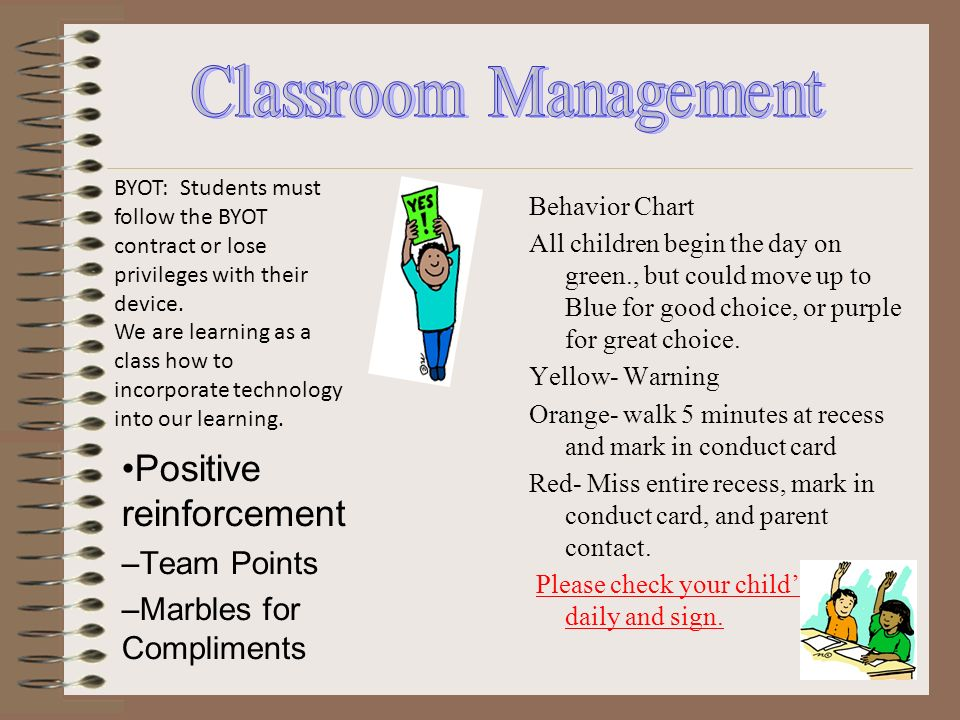 Positive reinforcement – Team Points – Marbles for Compliments Behavior Chart All children begin the day on green., but could move up to Blue for good choice, or purple for great choice.