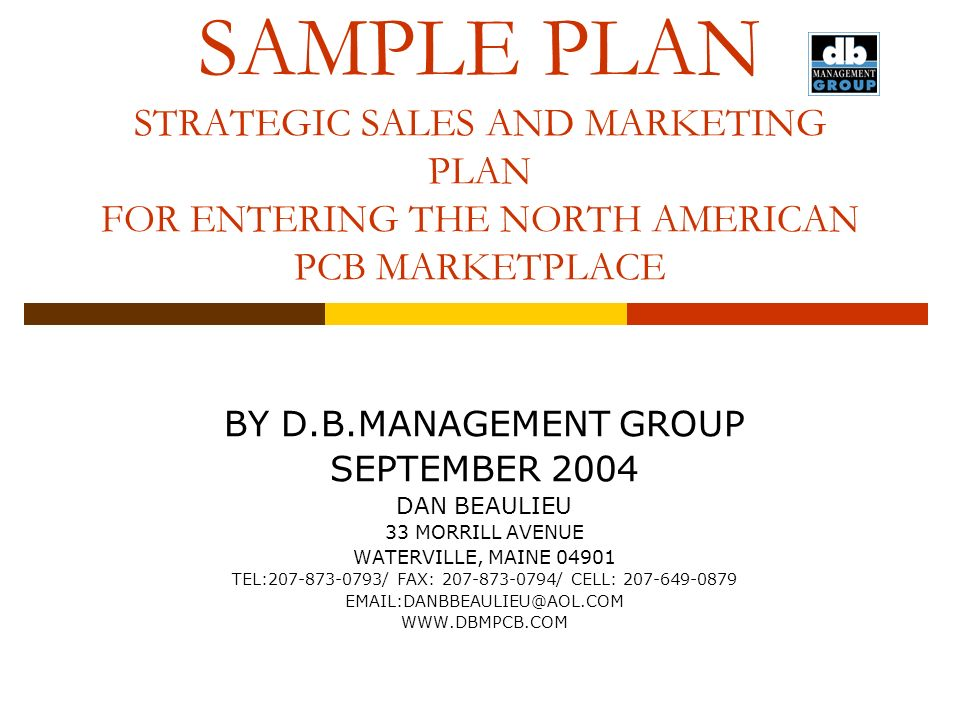 Doc638826 How to Write a Sales Plan Template Strategic – Sample Sales Plan Template