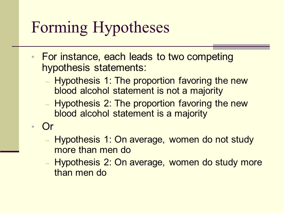 How To Write A Hypothesis For Apa Paper