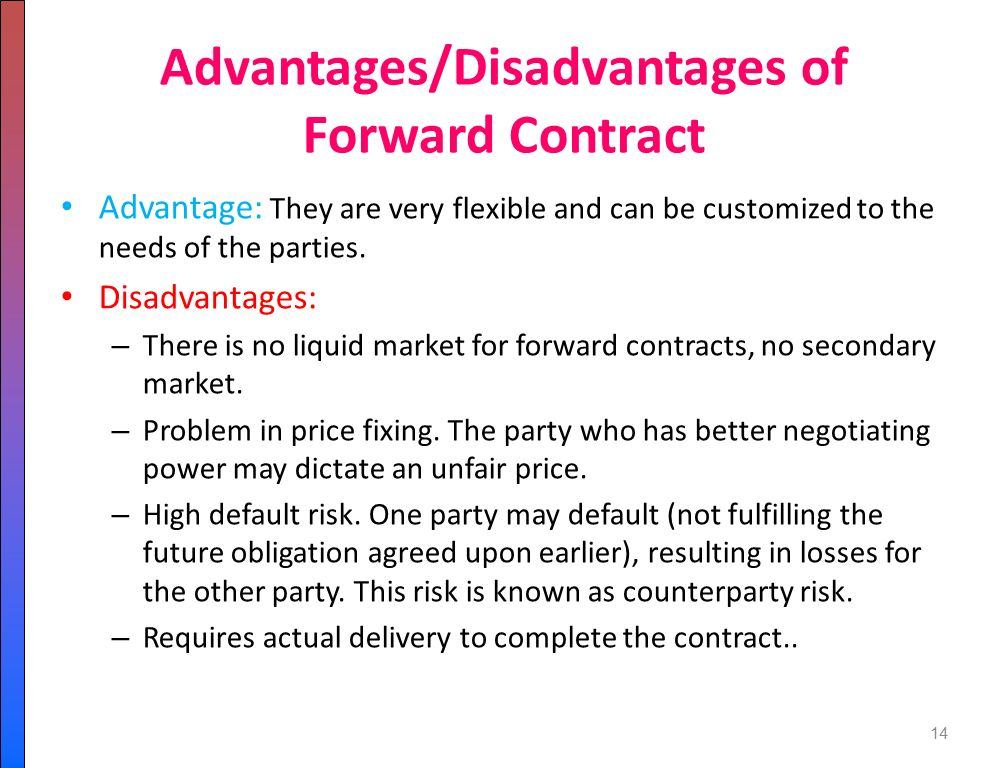 advantages and disadvantages of forward integration