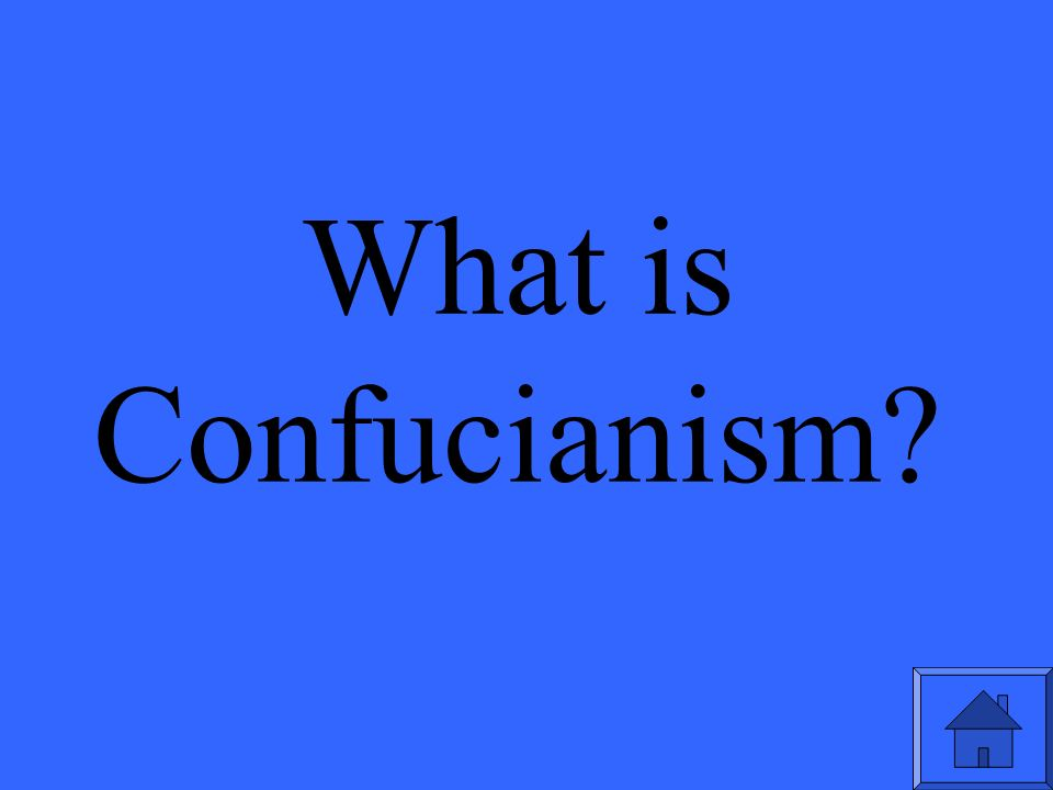 What is Confucianism