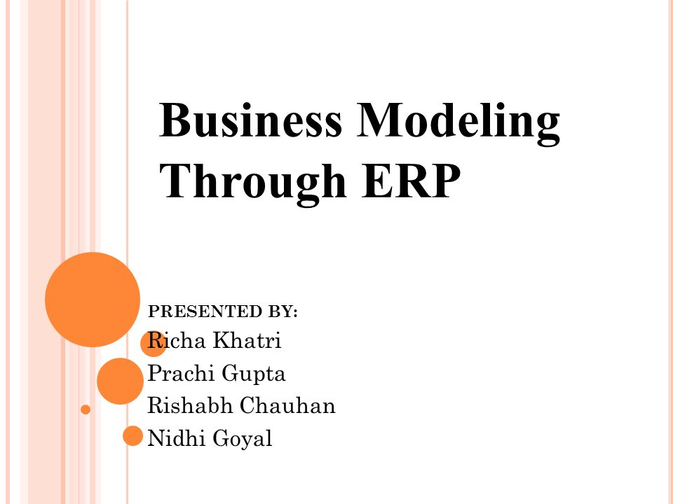 Business modeling through erp presented by richa khatri prachi 1 business modeling through erp presented by richa khatri prachi gupta rishabh chauhan nidhi goyal malvernweather Choice Image