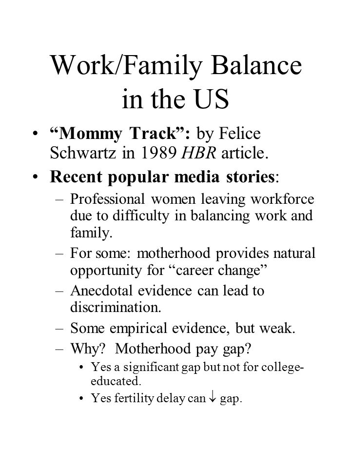 the pressure and difficulties of balancing career and motherhood How motherhood impacts on womens career among women, the career break due to motherhood still has a in terms of the after-effects on balancing work.
