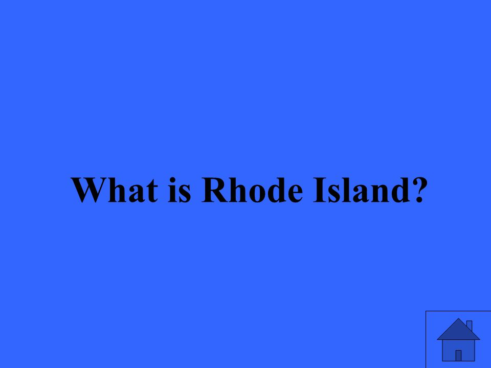 What is Rhode Island