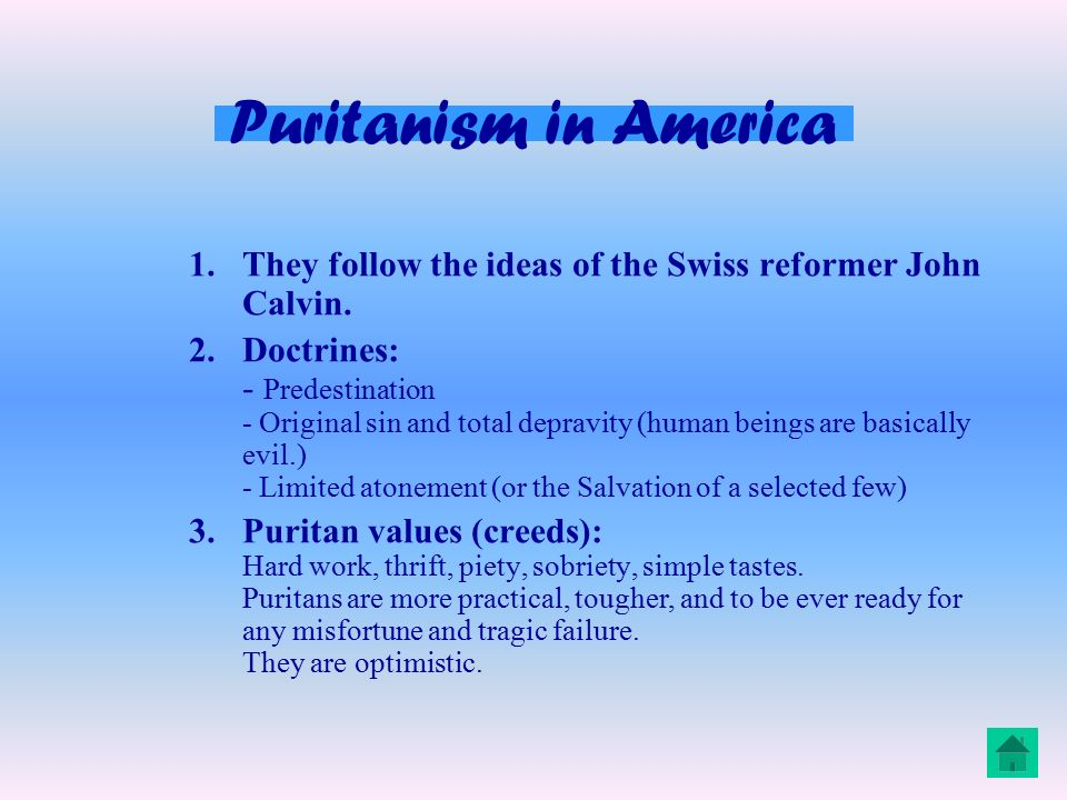 essay about puritans Short essay about puritans on studybaycom - other, essay - muhammad adil | 100008005.