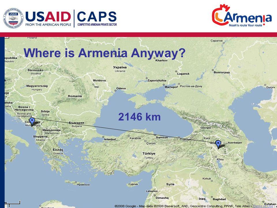 Promoting Caucasus Tourism Globally Through Specialty Tourism - Where is armenia