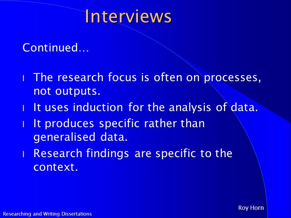 Dissertation vs journal article