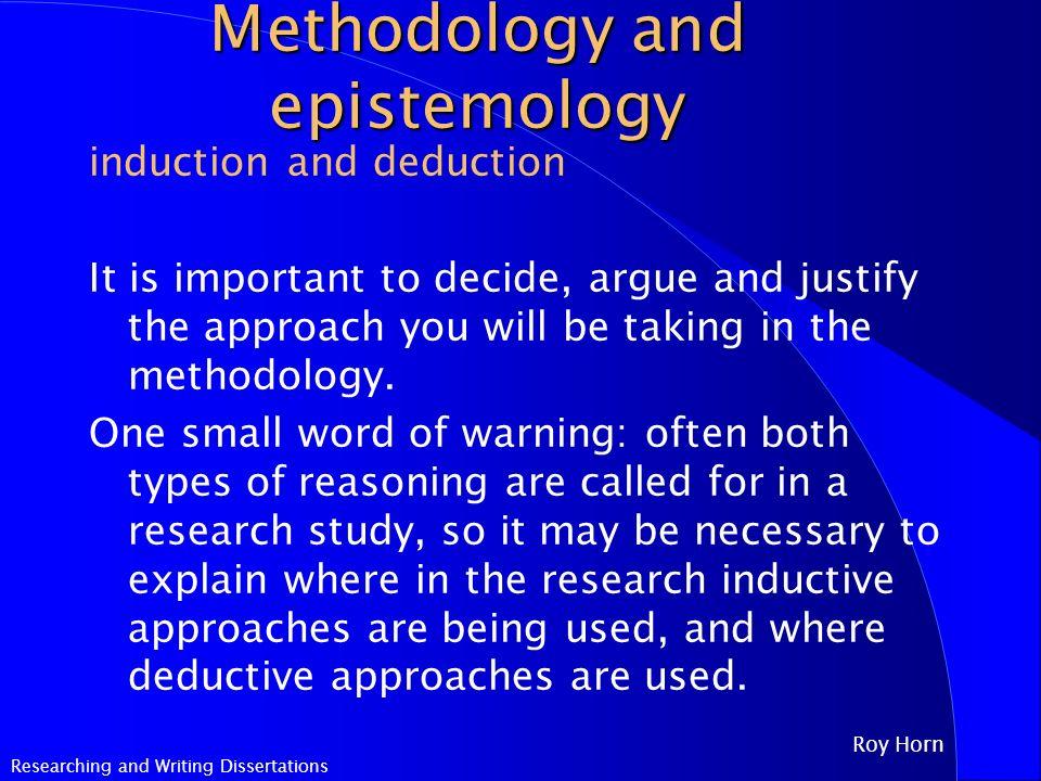 research paper epistemology