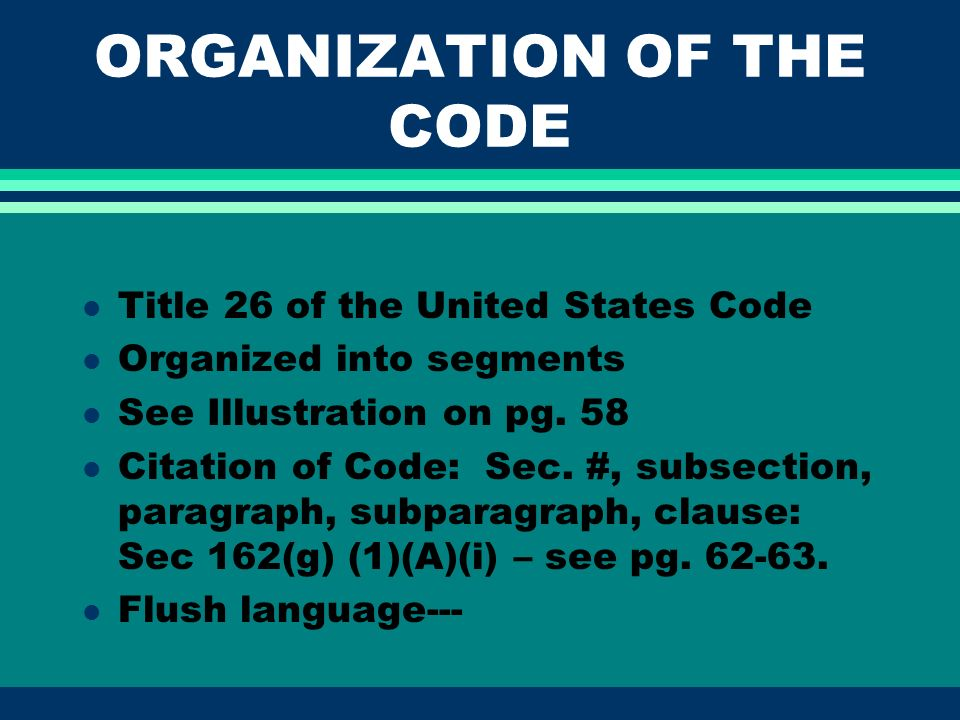 internal revenue code 26 usc - internal revenue code subtitle e - alcohol, tobacco, and certain other excise taxes (sections 5001 - 5891.