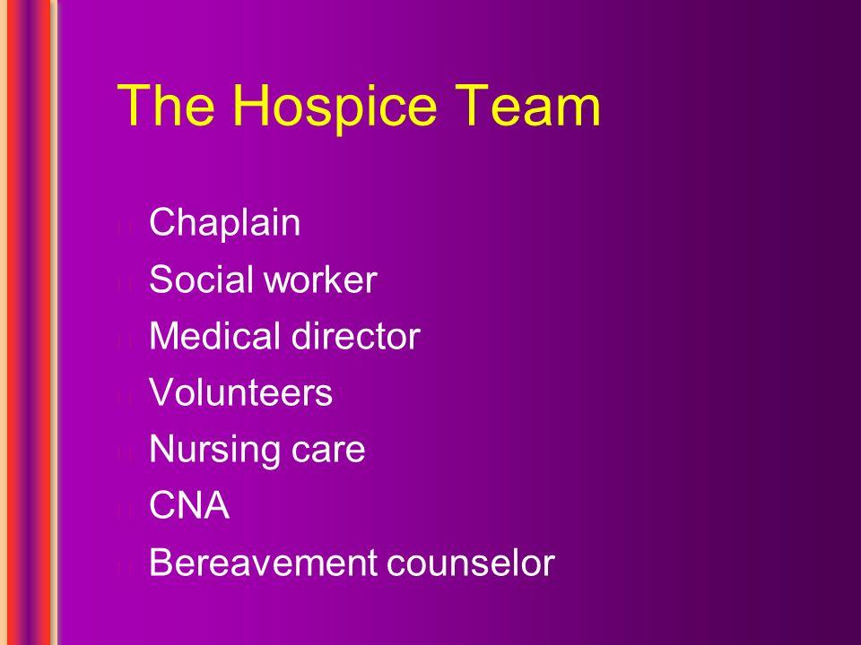 hospice cna