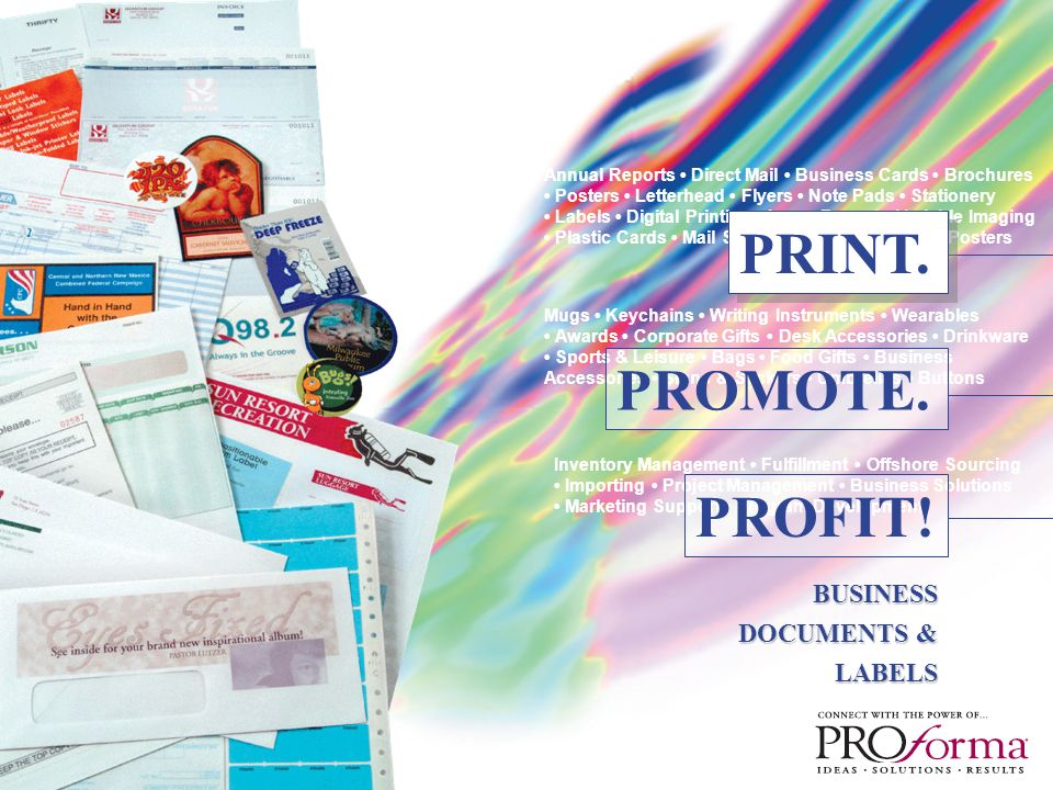 Annual Reports Direct Mail Business Cards Brochures Posters ...
