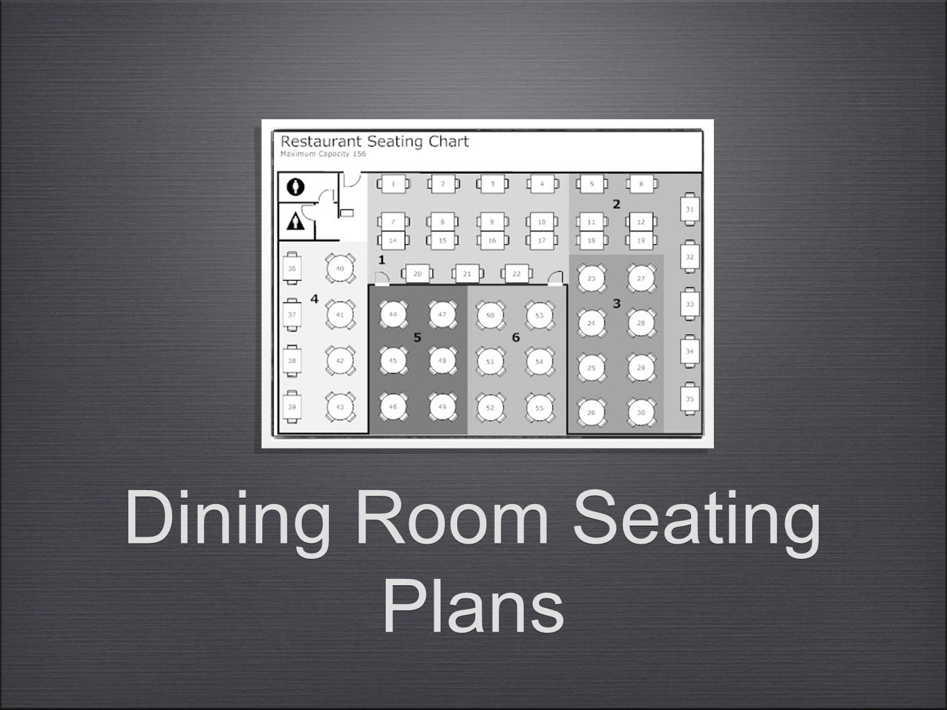 Dining Room Seating Plans