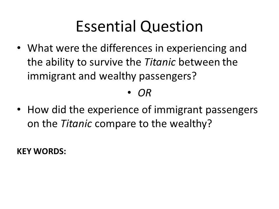 Argumentative topicson immigration