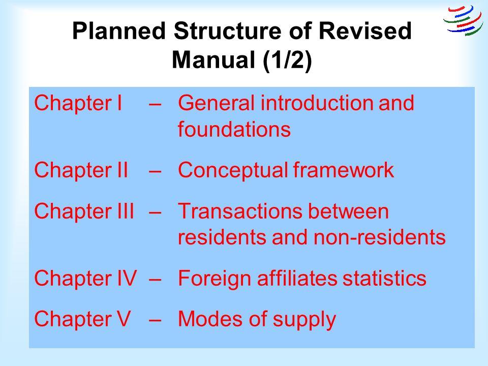 framework tour operators manual