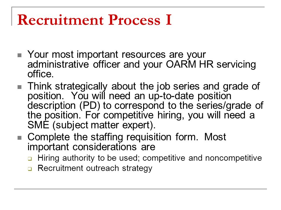 your recruitment matters
