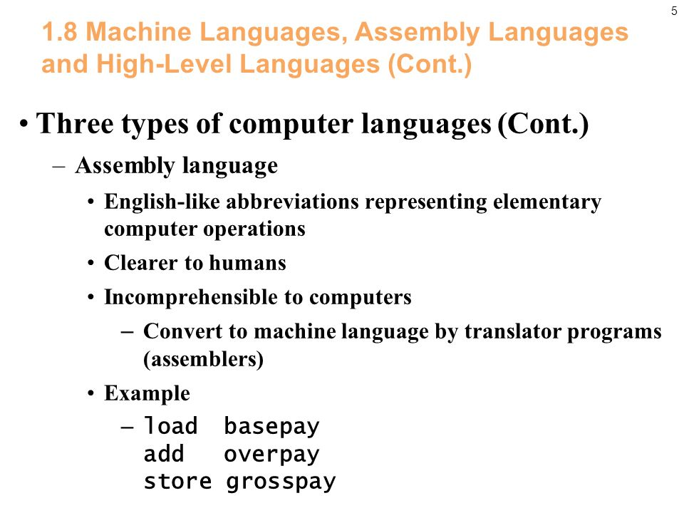 Pearson Education Inc All Rights Reserved Introduction To - Types of languages in the world