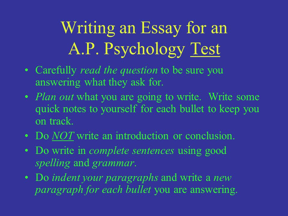 Sample Research Paper About Psychology