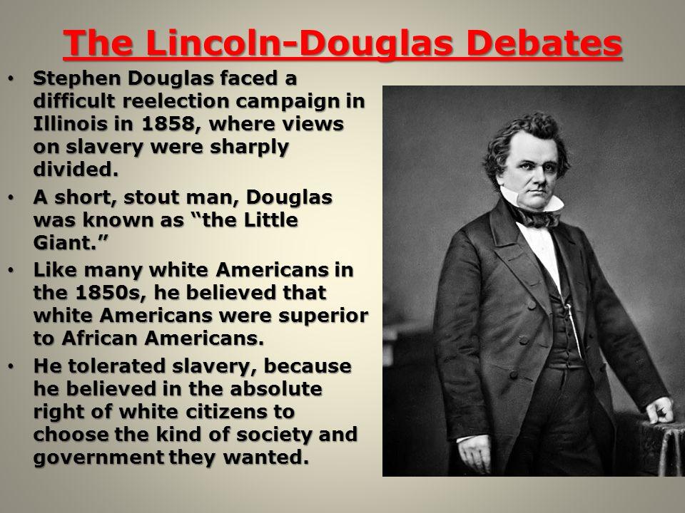 Lincoln-Douglas views on democracy?