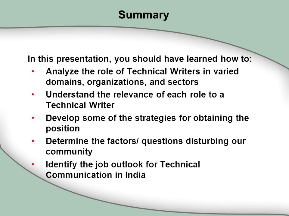 Technical writing organizations
