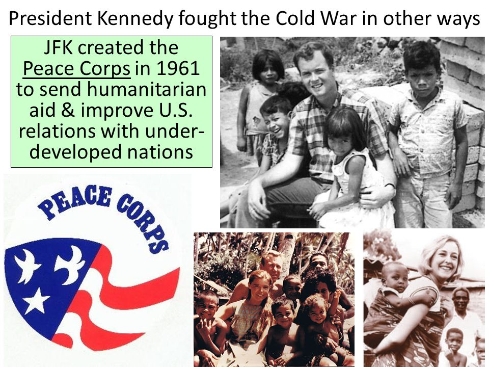 Image result for jfk created the peace corps