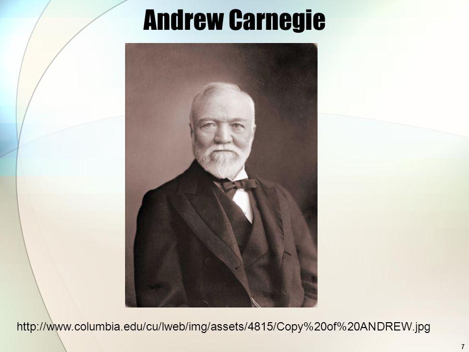 Andrew Carnegie Essay