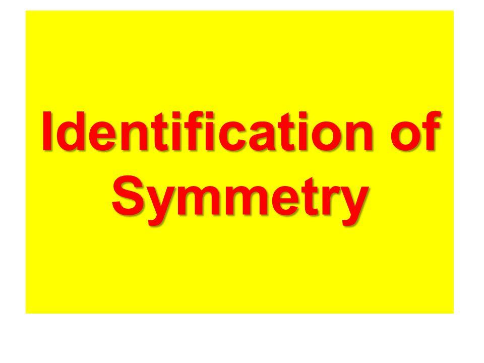 Identification of Symmetry