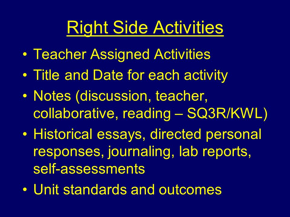 essays on personal attributes