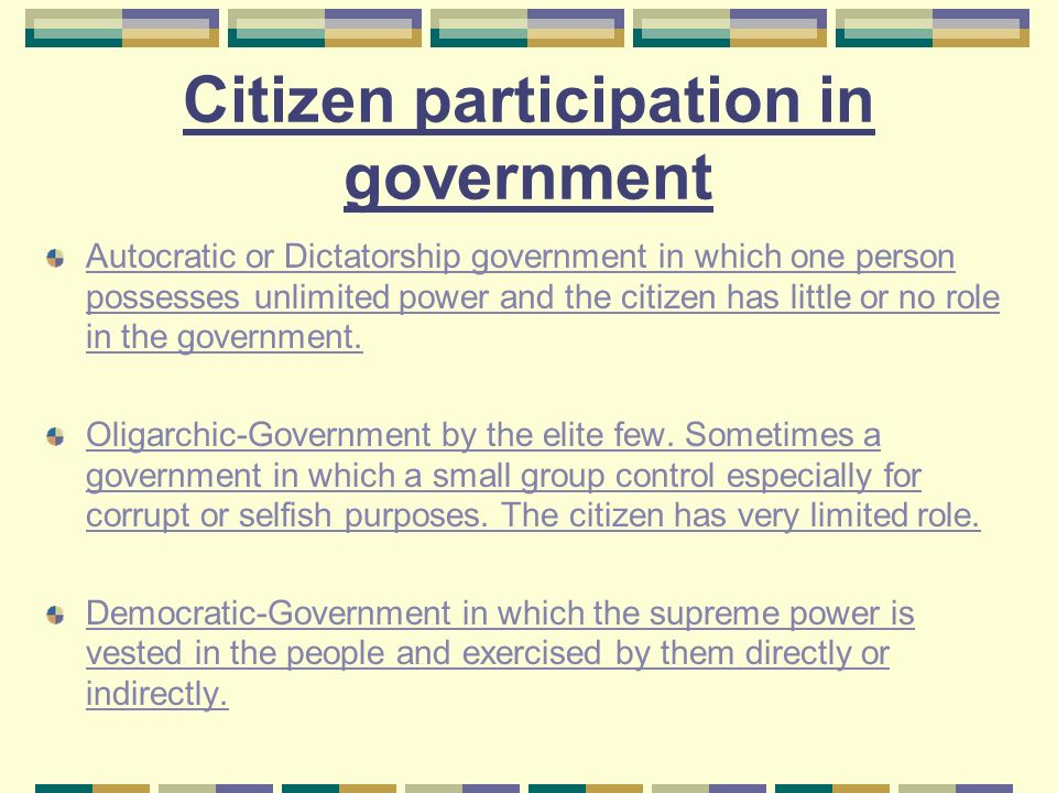 Printables Participation In Government Worksheets types of government 7 th grade social studies cantrell ppt download citizen participation in autocratic or dictatorship which one person possesses unlimited power and