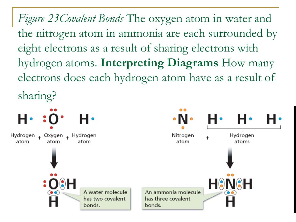 Covalent Bonds. How Covalent Bonds Form Atoms can become more ...