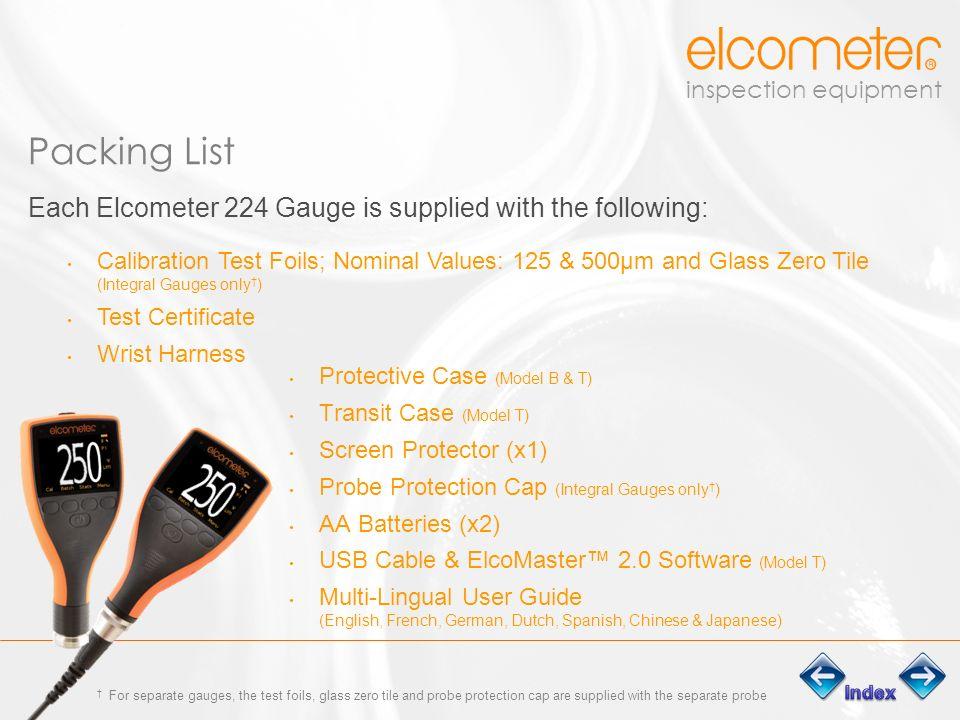 Inspection equipment Elcometer 224 Digital Surface Profile Gauge ...