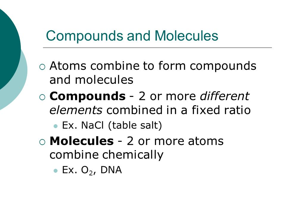 Chapter 2 Atoms and Molecules: The Chemical Basis of Life. - ppt ...