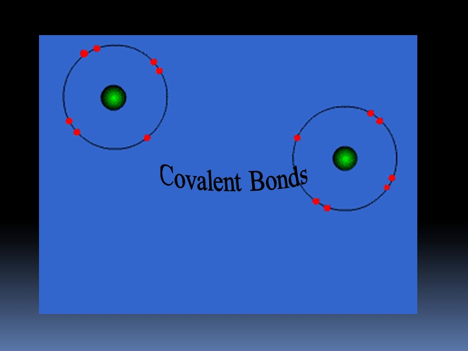 Covalent Bond  Between nonmetallic elements of similar electronegativity.