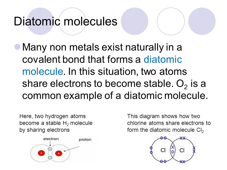 Chapter 6: Chemical Bonds Section 2: Covalent Bonds, Polar and Non ...