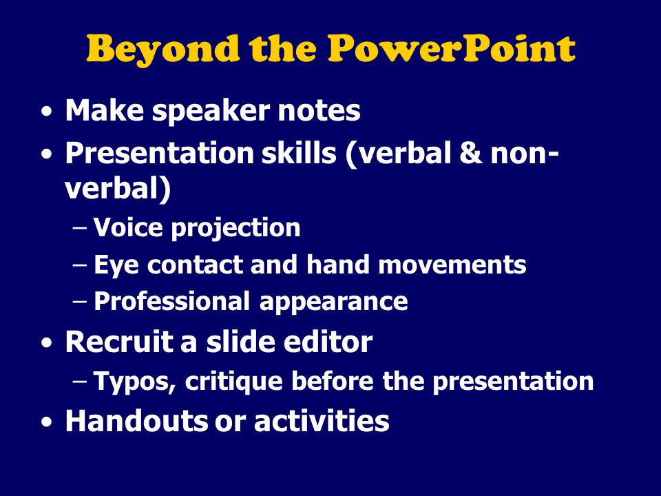 Powerpoint Presentation Tips Based On The Seven Deadly Sins Of