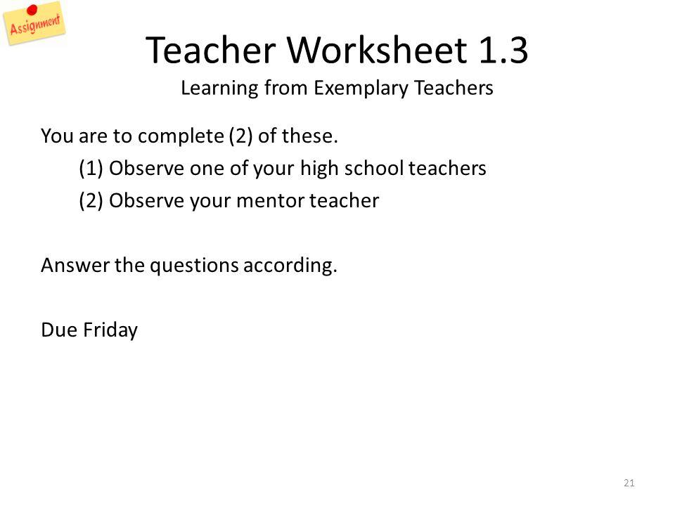 Teachers Curriculum Institute Worksheets - Synhoff