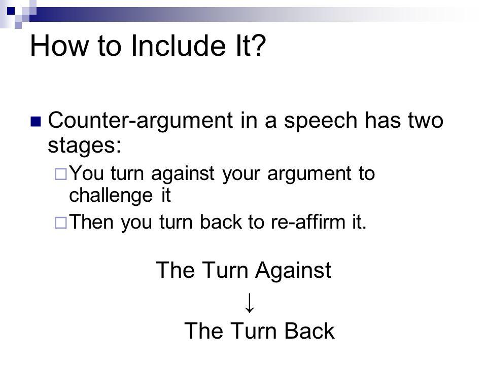 Argument thesis