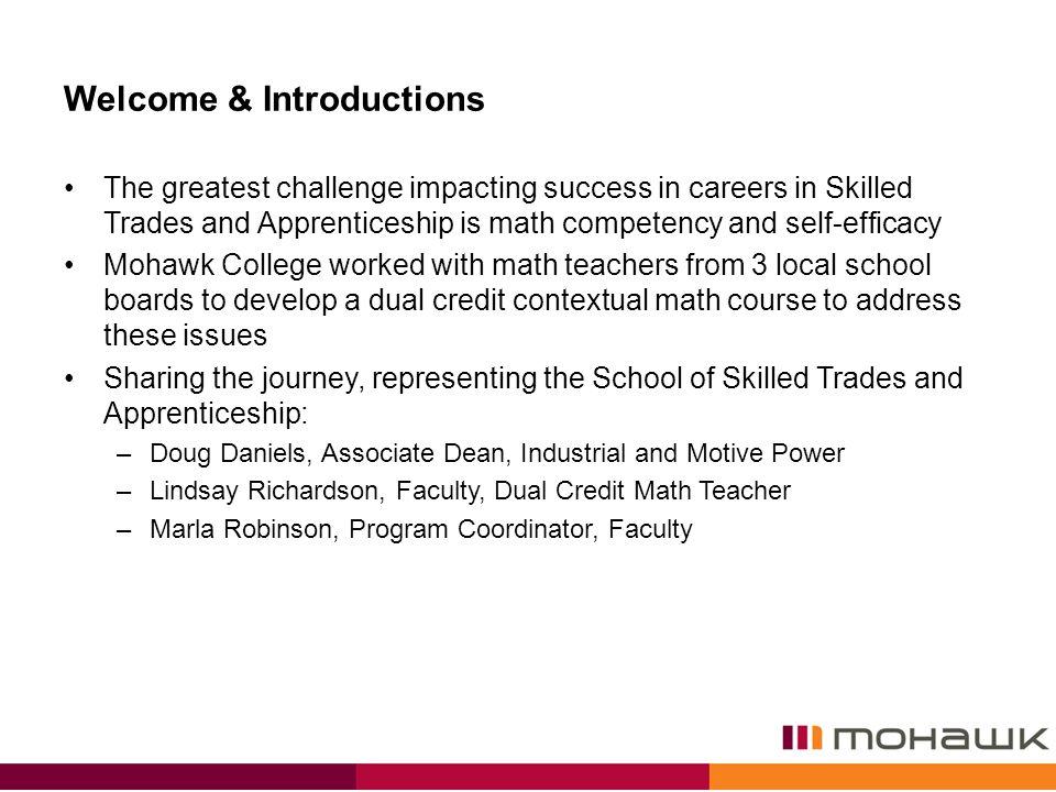 Dual Credit Contextual Math School College Work Initiative. - ppt ...