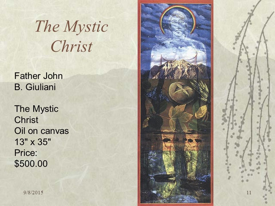 9/8/ The Mystic Christ Father John B.