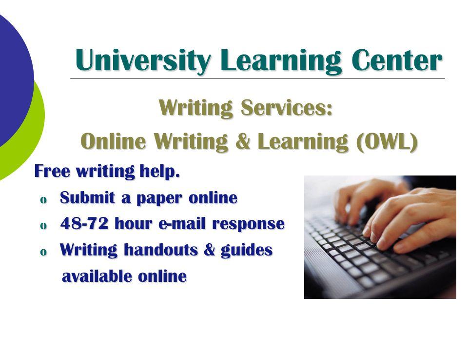 university learning essay