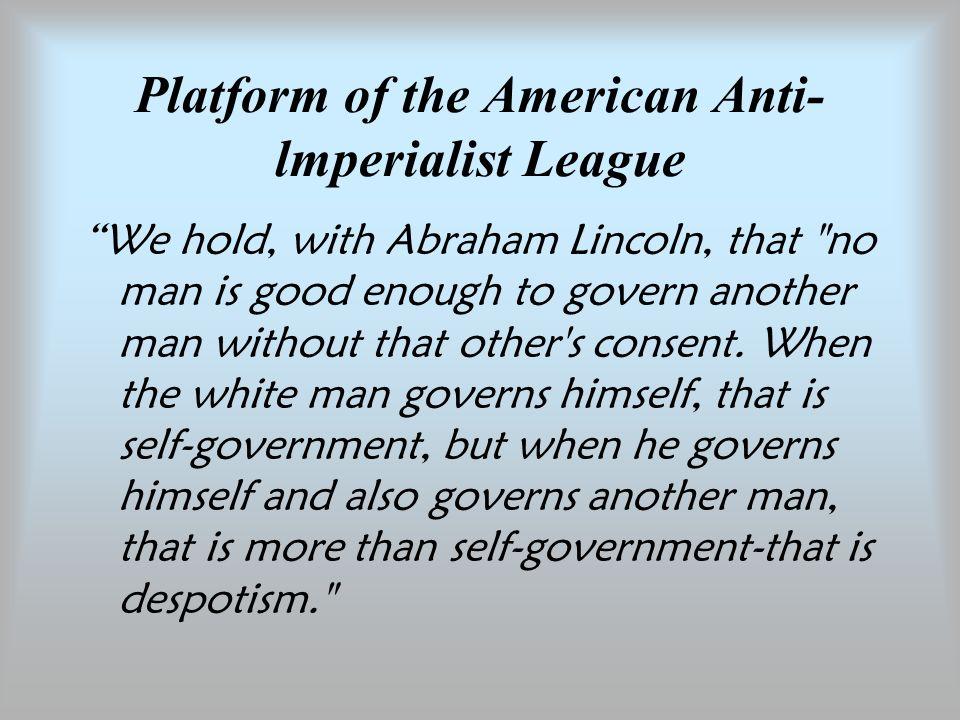 Anti Imperialist League