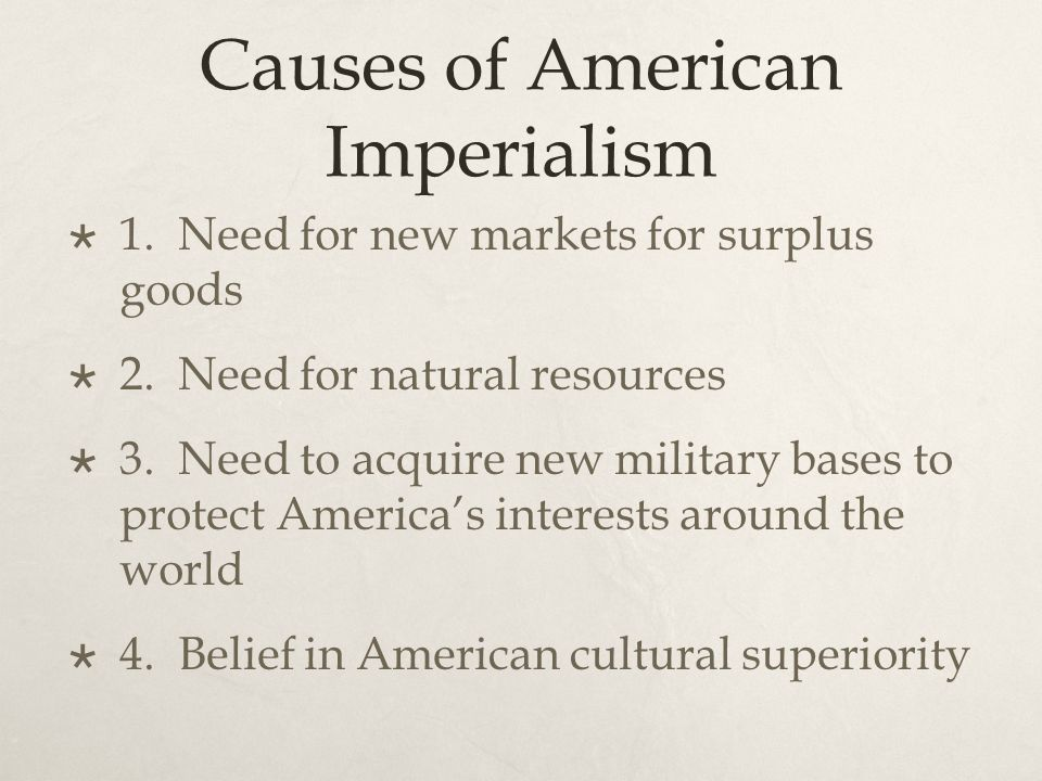american imperialism the consequences Effects, modern impact of imperialism in cuba by akshansh | posted november 7, 2013 | cincinnati, ohio many cubans have died due to the spanish american war.